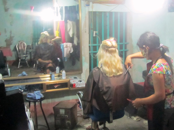 Haare schneiden in Vietnam - vietnamesisch online lernen