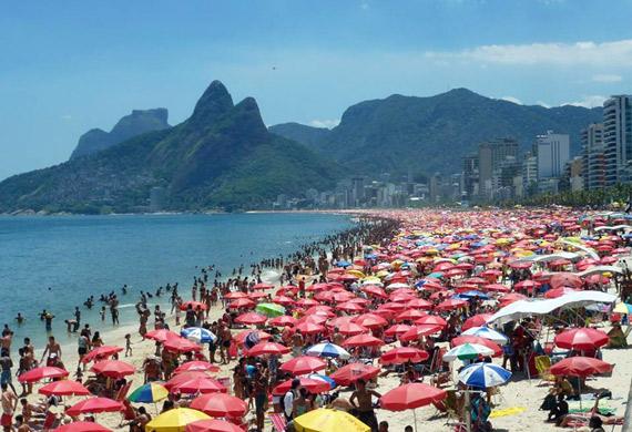 brasilianisch lernen Strand