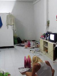 Dons 1 Raum Appartment - thailändische Wohnung