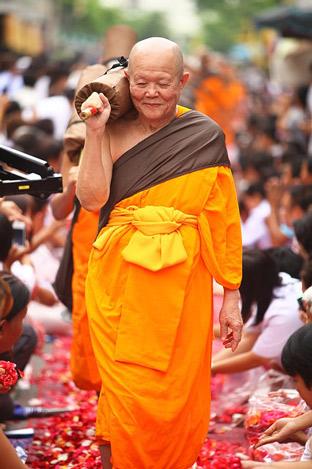thailändisch für deine Thailandreise - Thailändischer Mönch