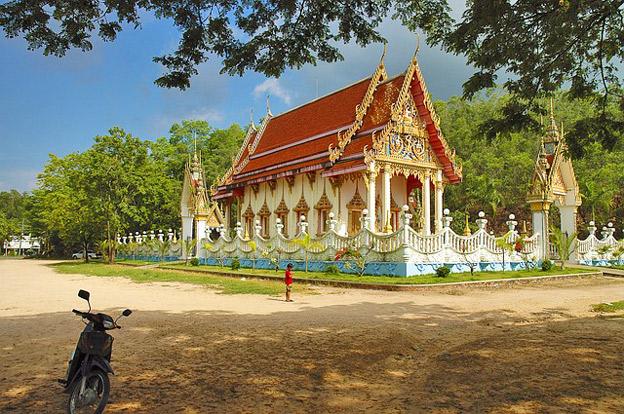 Thailändischer Tempel - Thailändisch für die Thailandreise