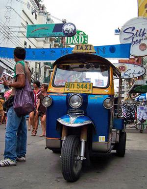 Thailändisches TukTuk - Thailändisch als Anfänger anwenden